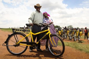 The bicycle can change a life