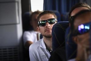 Jacques Janse van Rensburg on the bus