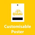Qhubeka Fundraising Custom Poster