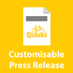 Qhubeka Fundraising Press Release Template