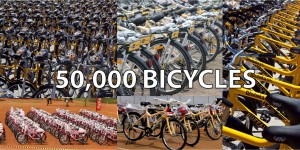 50000 bicycles