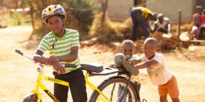 Qhubeka Bicycle Handover