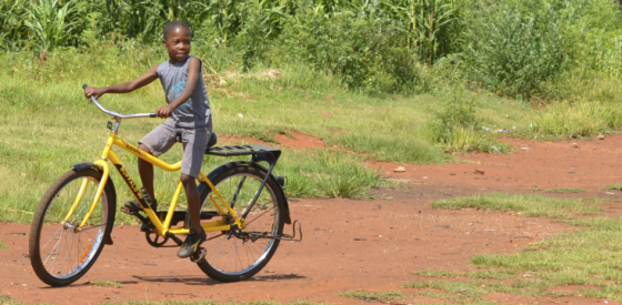boy on bicycle header