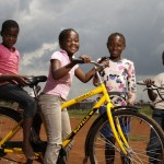 A new bicycle brings great joy