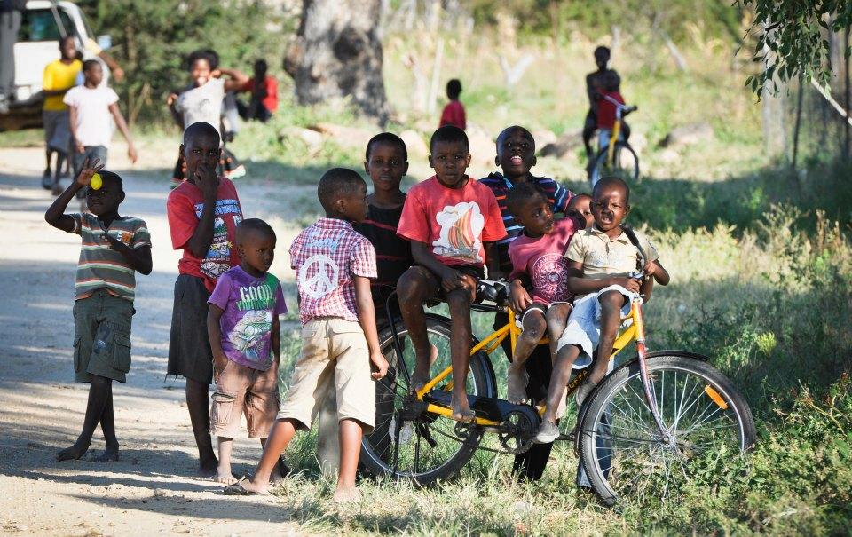 mobilising people on bikes