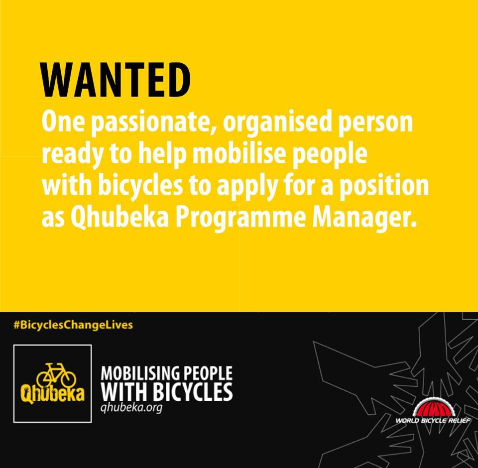Qhubeka is hiring