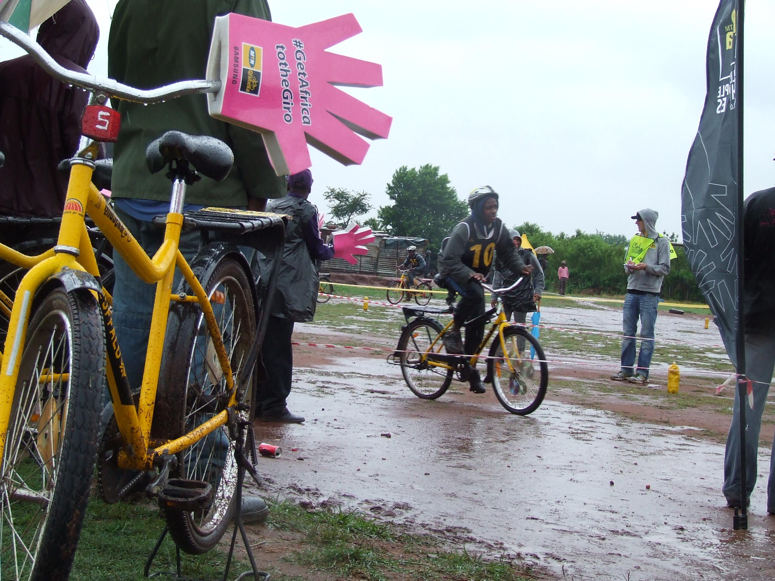 Qhubeka bicycle