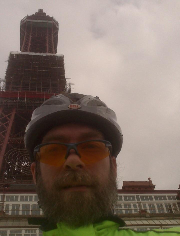 Ian Appleby_Blackpool Tower selfie