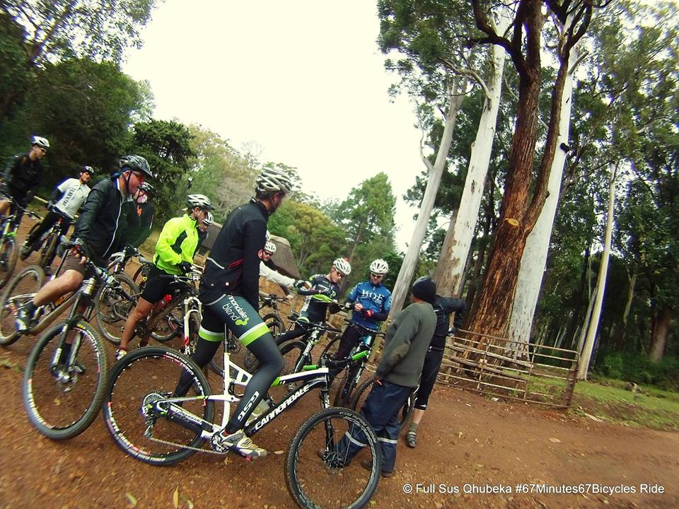 Full Sus Tokai MTB ride