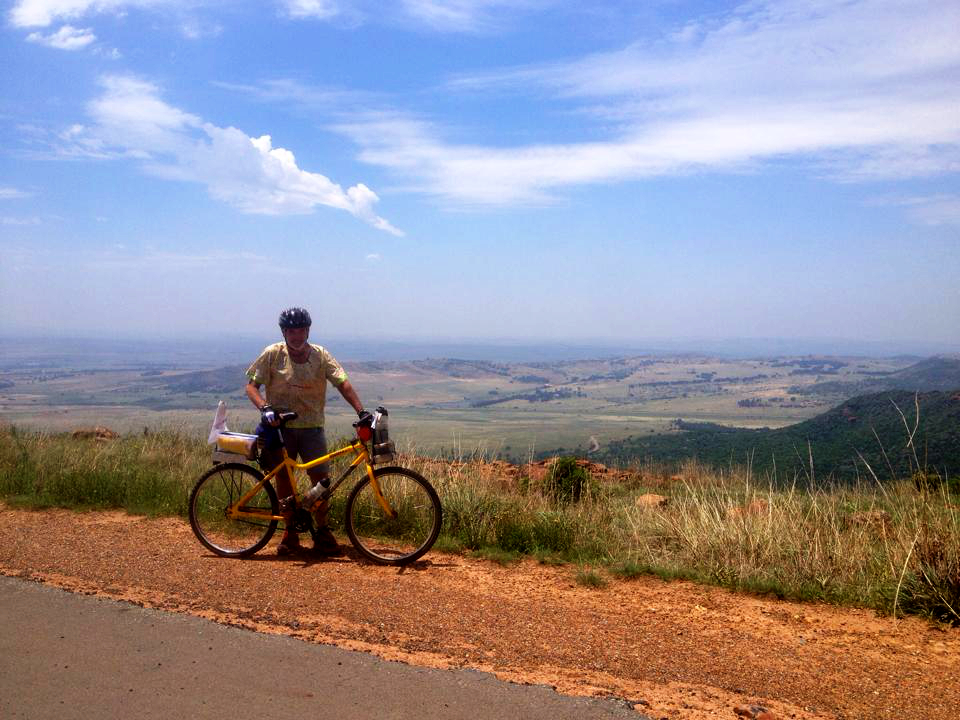 Colin on his 61st birthday this December, 100km Suikerbosrand cycle