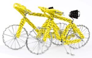 beaded bike