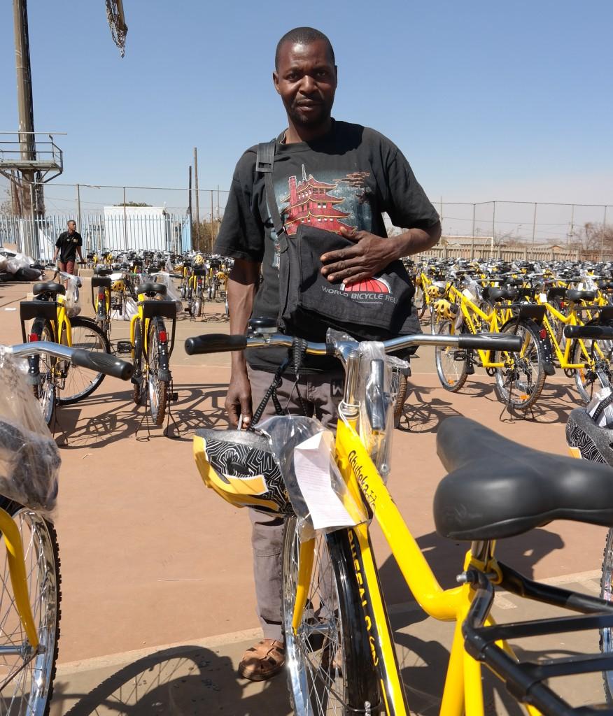 Qhubeka Bicycle Mechanic