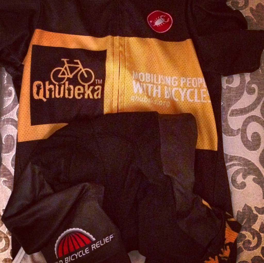 10 hours before Everesting attempt: Kit ready. Food ready. Bike ready. Body, I hope so.