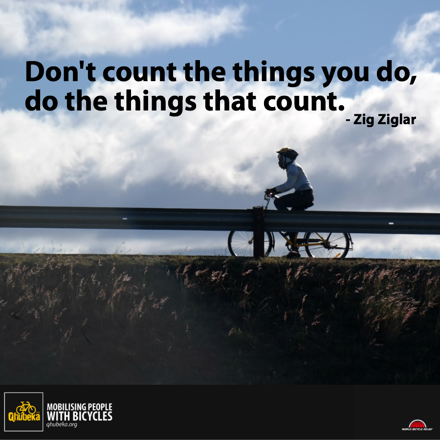 do things that count