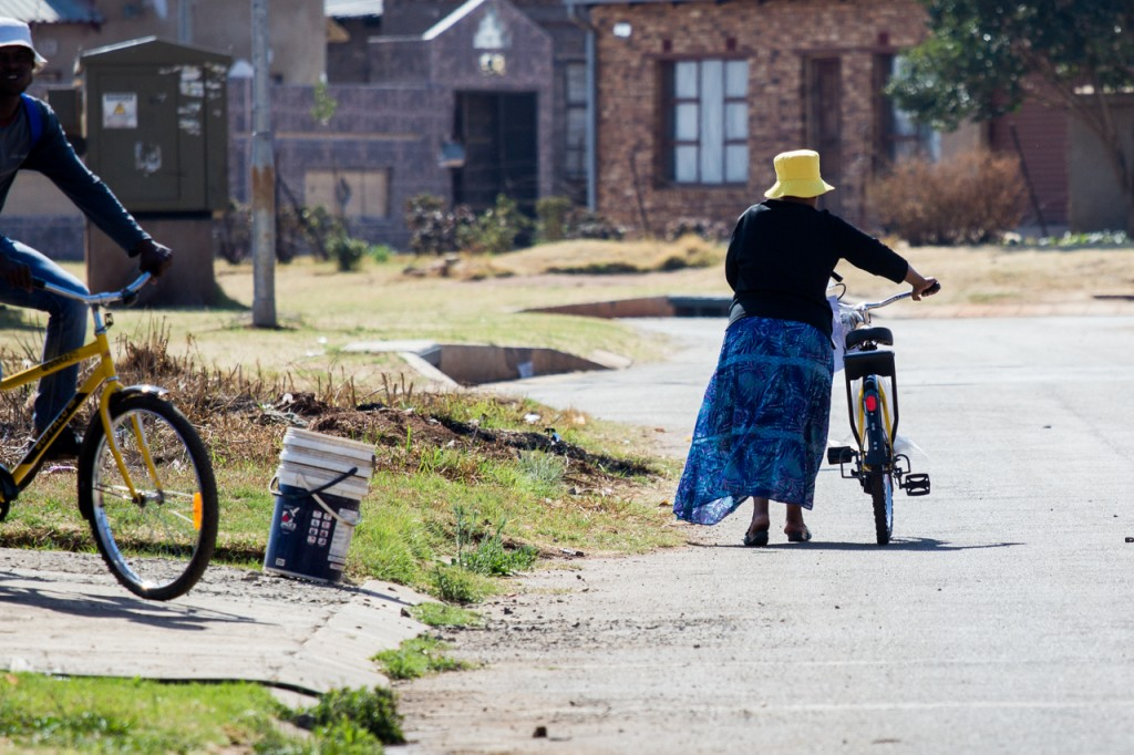 Bicycles change lives