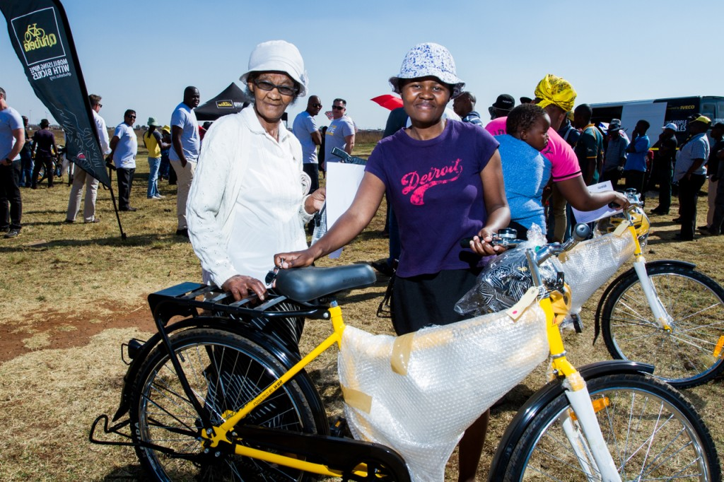 How bicycles change lives