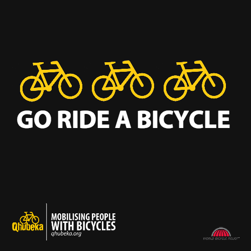 Go ride a bicycle
