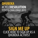 #CycleResolution Fitness Challenge Activist sign up