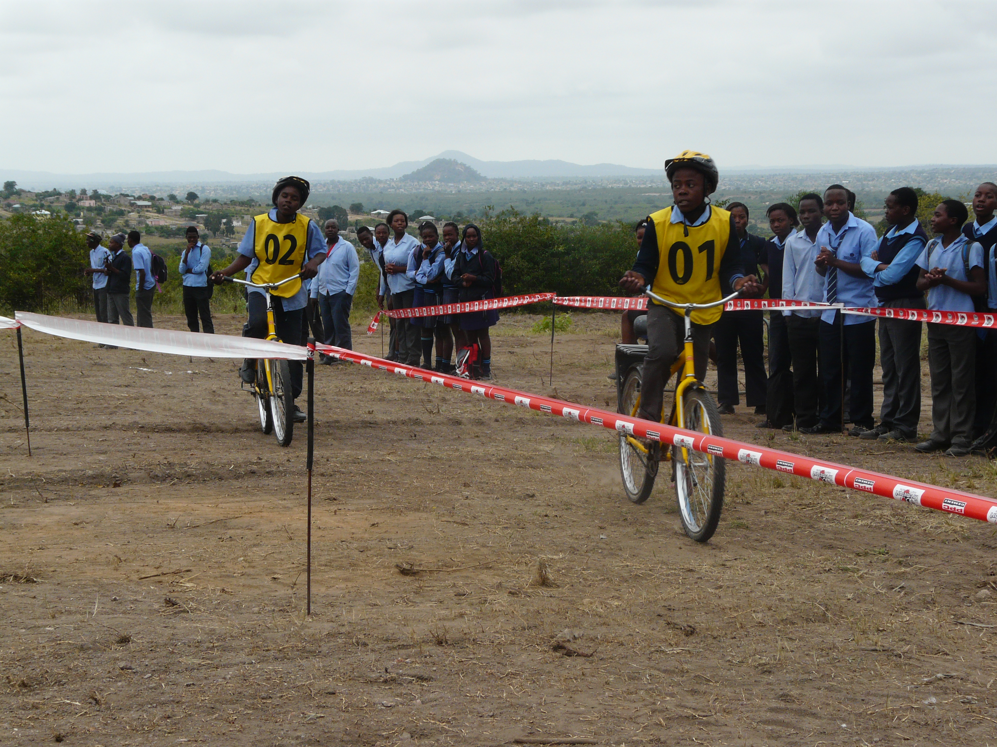 School support, CSA Community Cycling Series, Limpopo