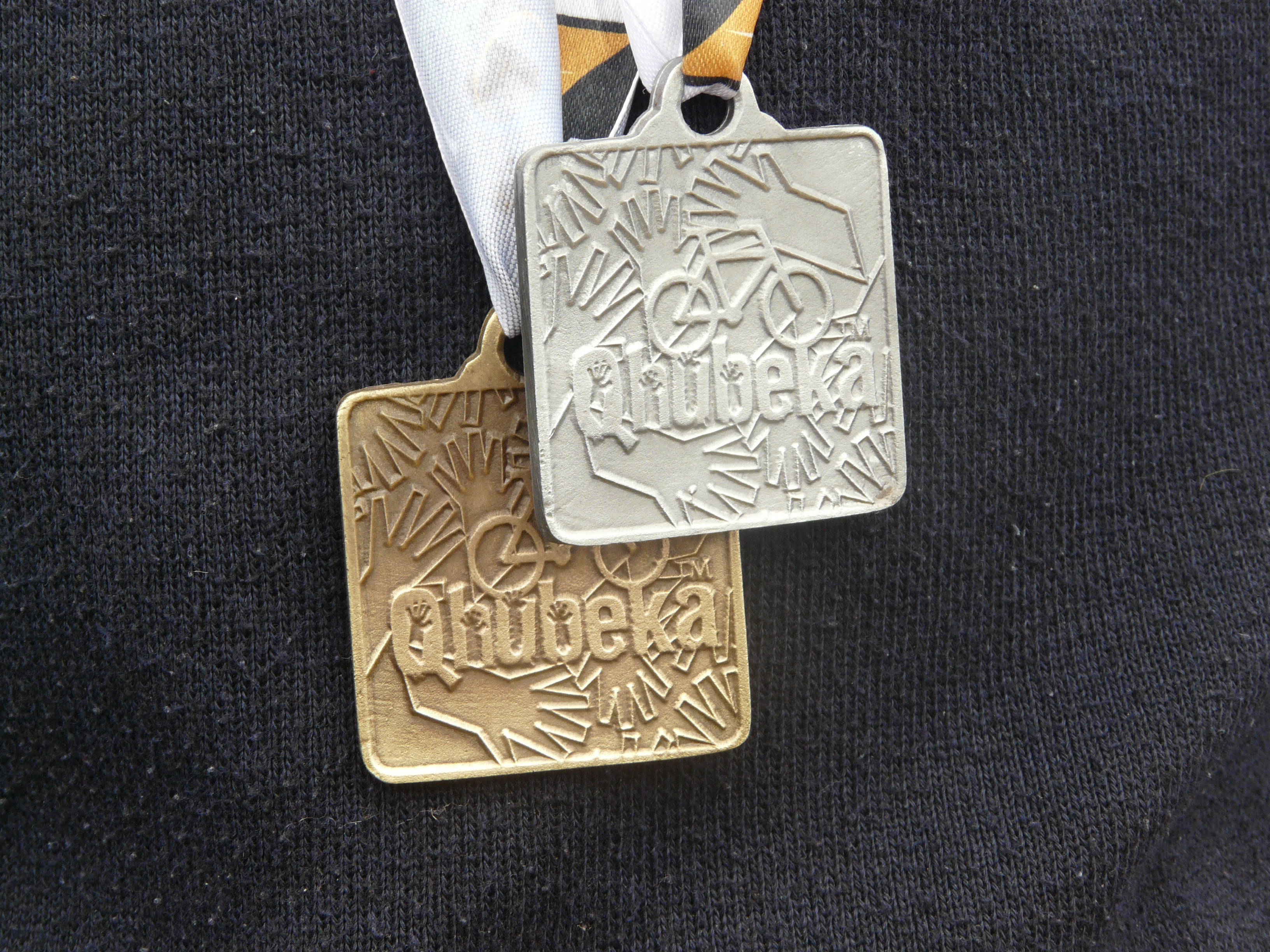 Medals on winner, CSA Community Cycling Series, Limpopo
