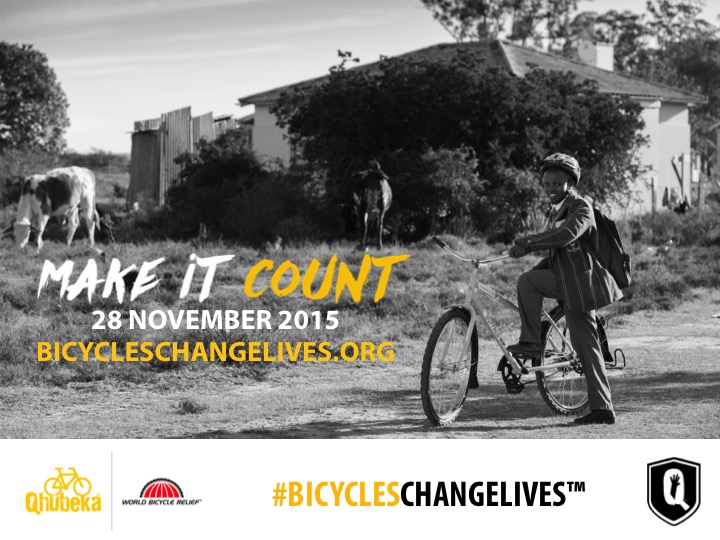 BicyclesChangeLives_Make It Count
