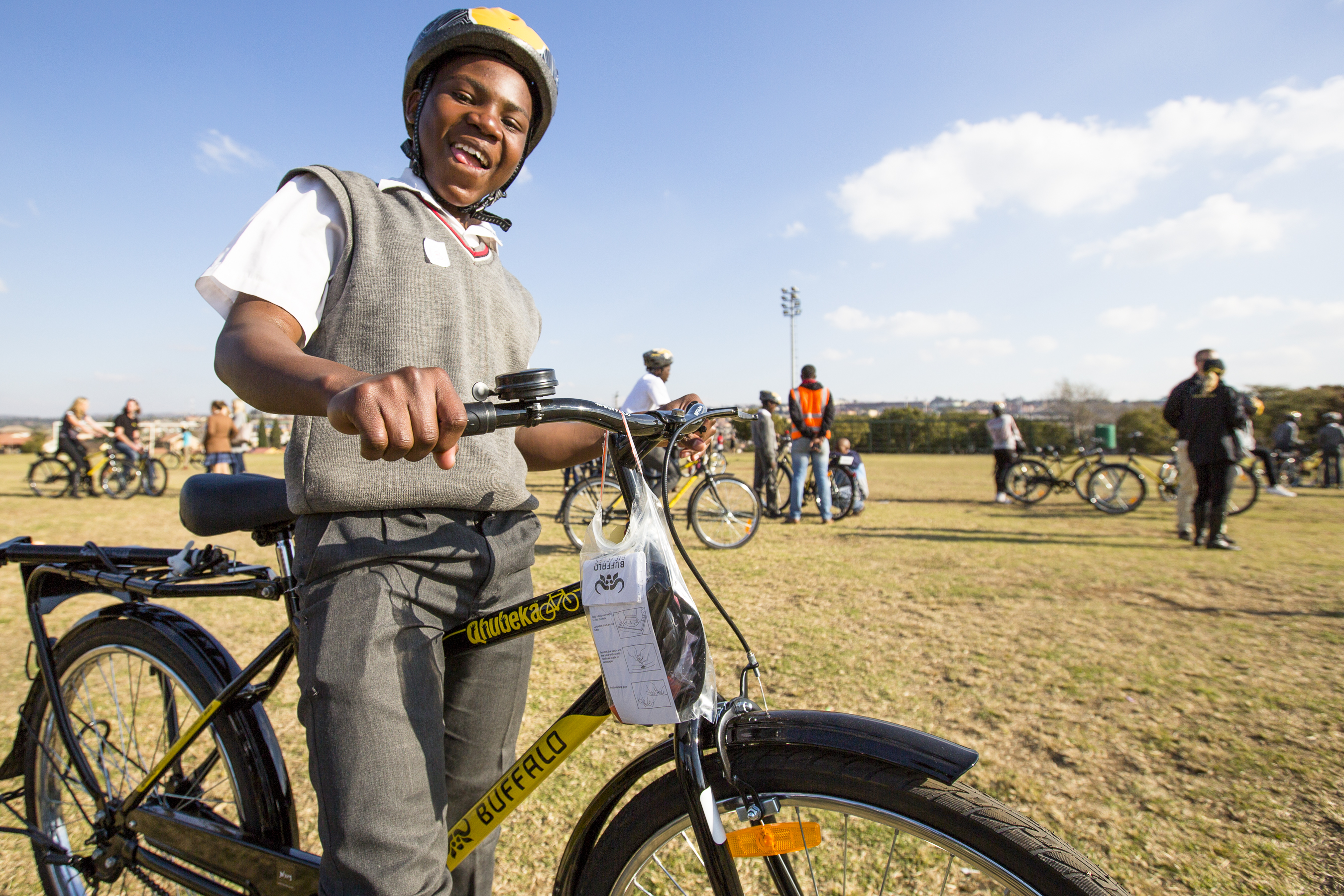 Qhubeka Alexandra Bike Handover June 22 2016 - photography by Liam Philley-7