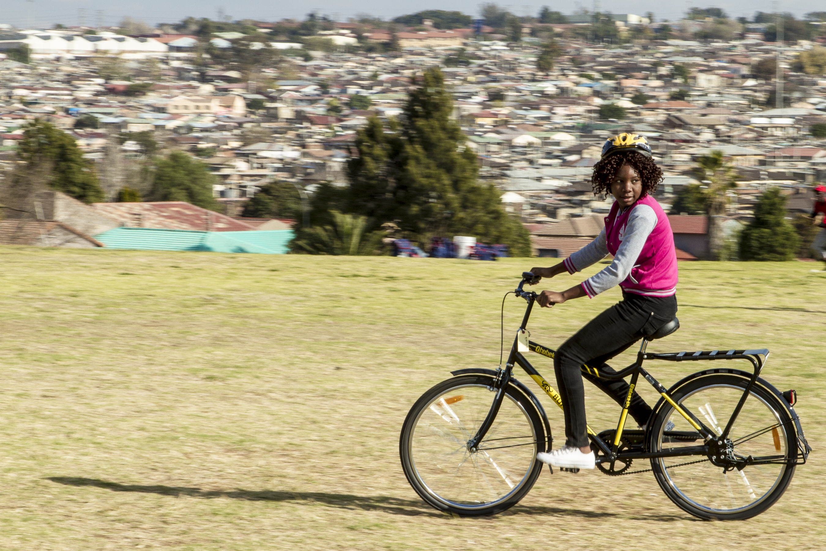 Qhubeka Alexandra Bike Handover June 22 2016 - photography by Liam Philley-8