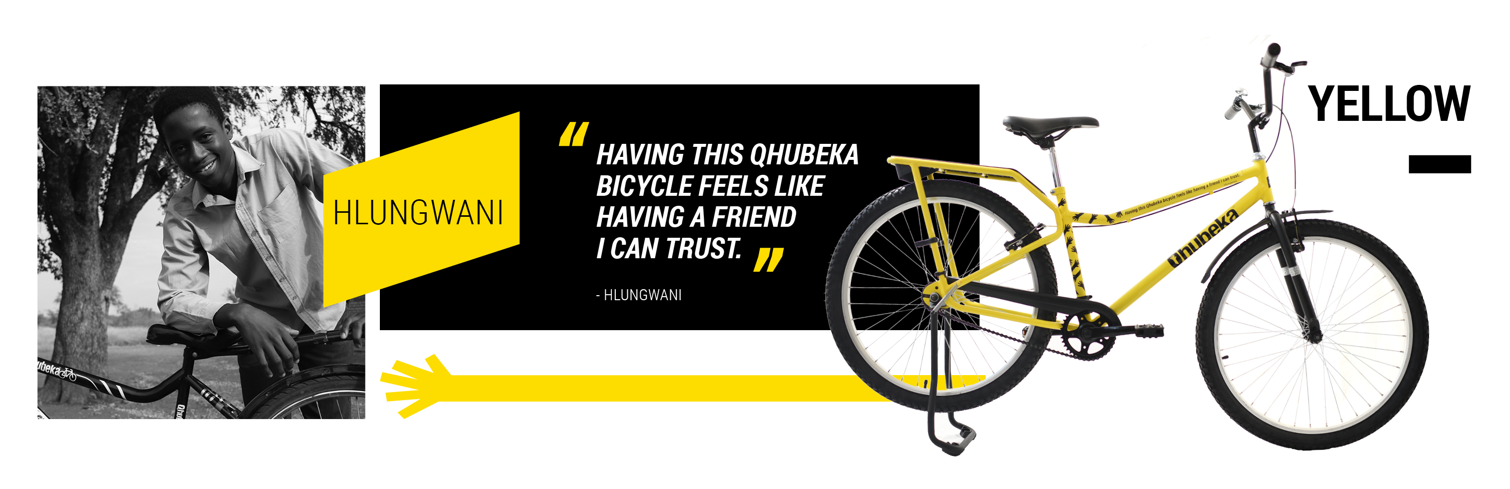 """Yellow Jersey"""" Qhubeka Bicycle Recovered at Tour de France"""