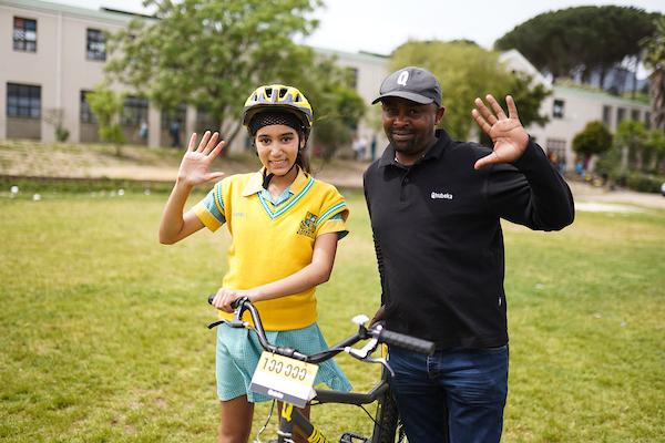 Qhubeka celebrates 100 000 bicycles distributed