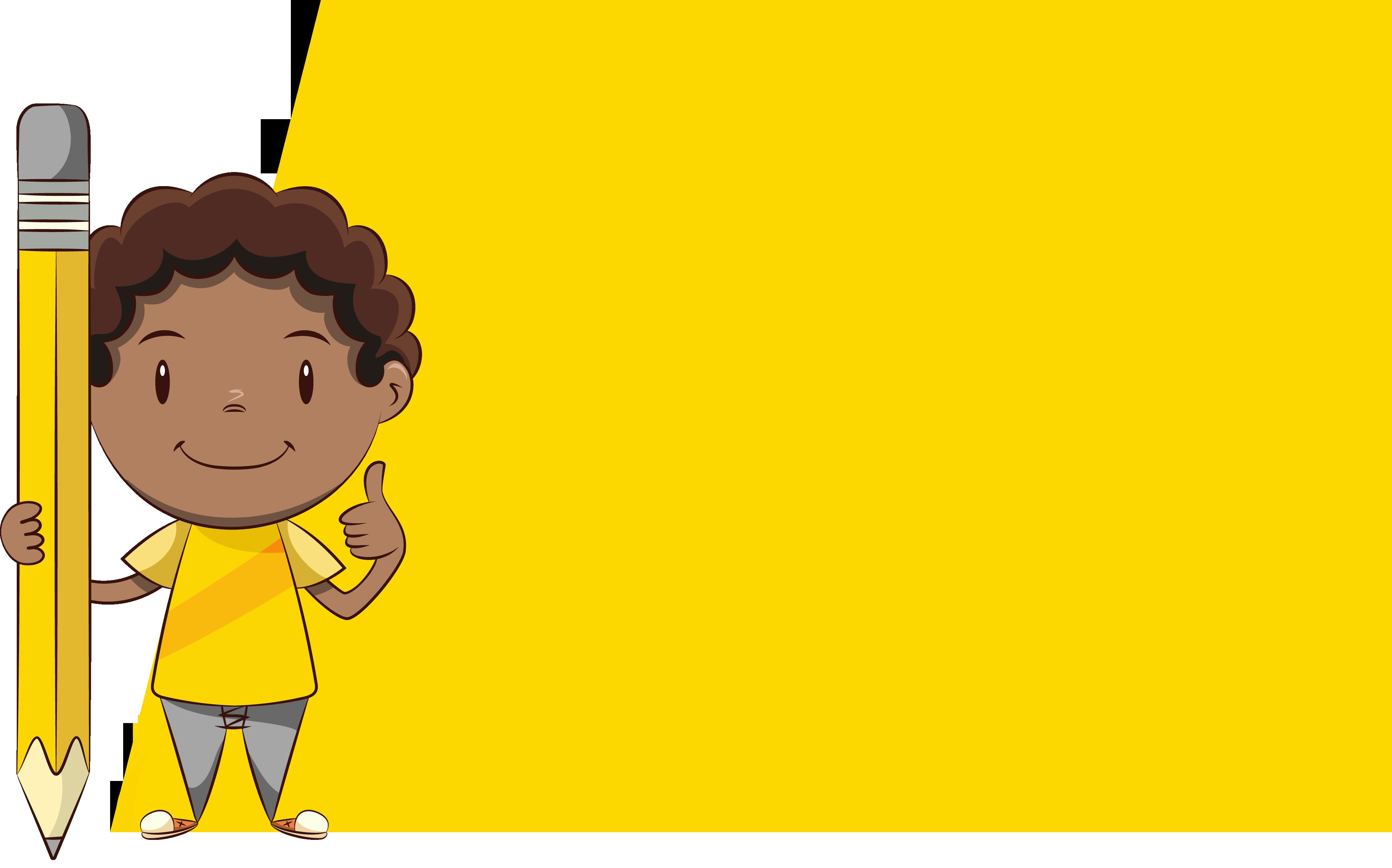 Game Pencil - Yellow Block