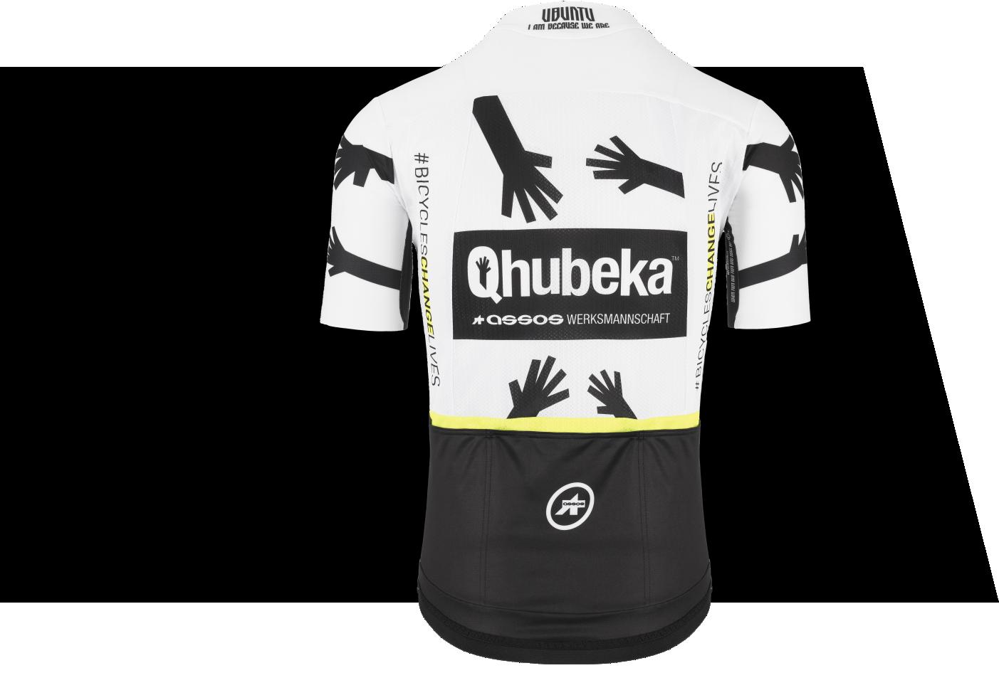 Team Qhubeka ASSOS shirt